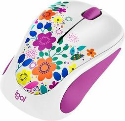 Logitech - Design Collection Wireless Optical Mouse with Nan