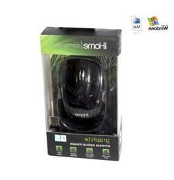 iHome Desktop Mouse Wireless Nano Receiver and Click Wheel B