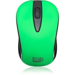 Adesso Ergonomic iMouse S70 - Wireless Optical Neon Mouse