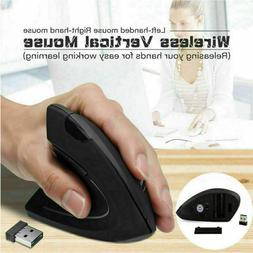 Vertical Mouse Wireless Ergonomic Optical 2.4GHz Mouse Adjus