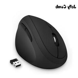 Ergonomic Mouse Right Hand 2.4GHz Wireless Vertical Mouse fo