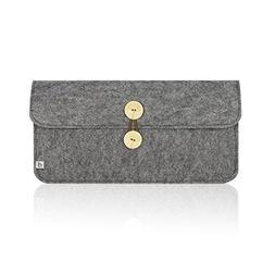 Masino Felt Keyboard Sleeve Case Bag for Apple Bluetooth Wir