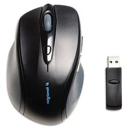 Pro Fit Full-Size Wireless Mouse, Right, Black, Sold as 1 Ea