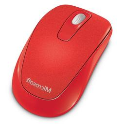 Microsoft Flame Red RF Wireless Optical Mouse