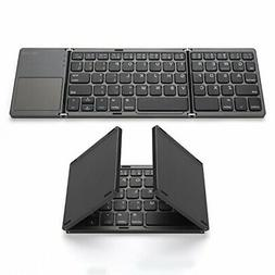 Foldable Bluetooth Keyboard, Jelly Comb Pocket Size Portable