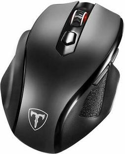Full Size Wireless Mouse with Nano USB Receiver 5 Adjustable