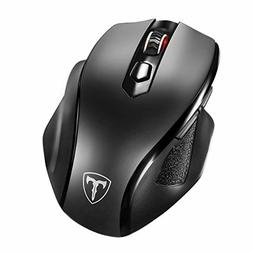 VicTsing Full Size Wireless Mouse with Nano USB Receiver, 5