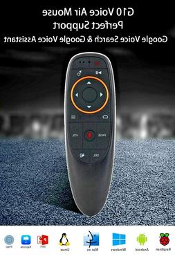 G10 Wireless Remote air mouse Google assistant voice input -