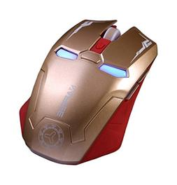 TENMOS G5 2.4GHz Optical Soundless Wireless Gaming Mouse Sil