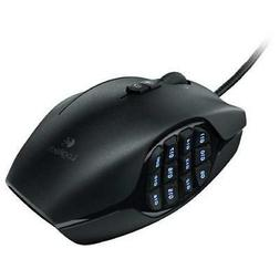 Logitech G600 MMO Gaming Mouse, RGB Backlit, 20 Programmable