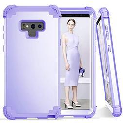 Galaxy Note 9 Case, Dooge 3in1 Hybrid Impact Heavy Duty Armo