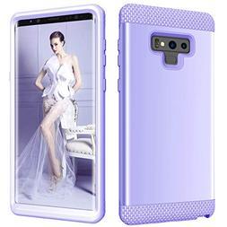 Galaxy Note 9 Case, Dooge Three Layer Slim Thin Hybrid Impac