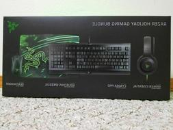 Razer 4-Piece Gaming Bundle Cynosa Pro Keyboard DeathAdder M