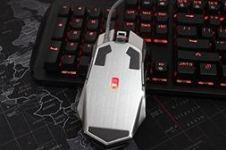 Professional Gaming Mouse,Chirpa Wired   USB LED Optical Wir