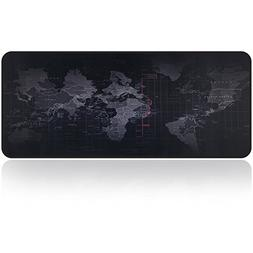 Large Gaming Mouse Map Pad With Nonslip Base|Extended XXL Si