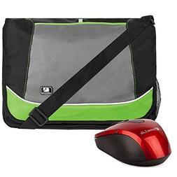 Green Fashion Durable SumacLife Laptop bag Shoulder Briefcas
