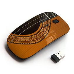 KawaiiMouse  Guitar Music Instrument Golden Brown