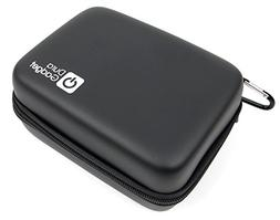 DURAGADGET Hard Shell EVA Box Case in Black with Carabiner C