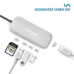 USB C Hub, HooToo USB 3.1 Type-C Adapter with HDMI 4K Output