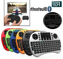 Rii i8+ BT Mini Wireless Bluetooth Backlight Touchpad Keyboa