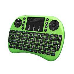 Rii i8+ Mini Wireless 2.4G Backlight Touchpad Keyboard with