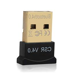 ideapro USB Bluetooth Adapter, 4.0 Dongle Micro Bluetooth Tr