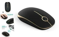 Jelly Comb 2.4G Slim Wireless Mouse with Nano Receiver MS001