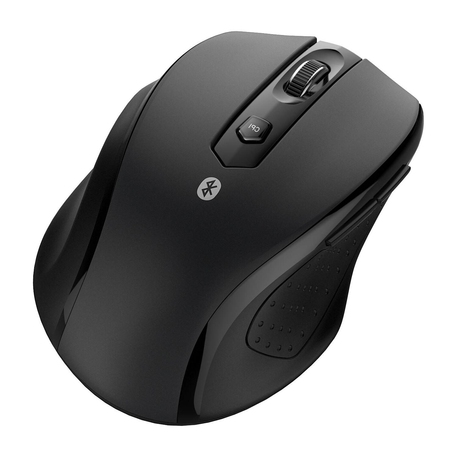 JETech Wireless Mouse Optical Mice for Mac Android OS Black