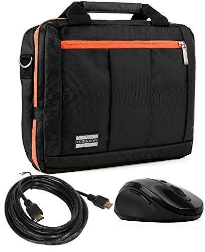 orange laptop hybrid messenger bag