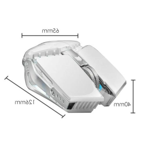 1600DPI Wireless Mouse Rechargeable for PC