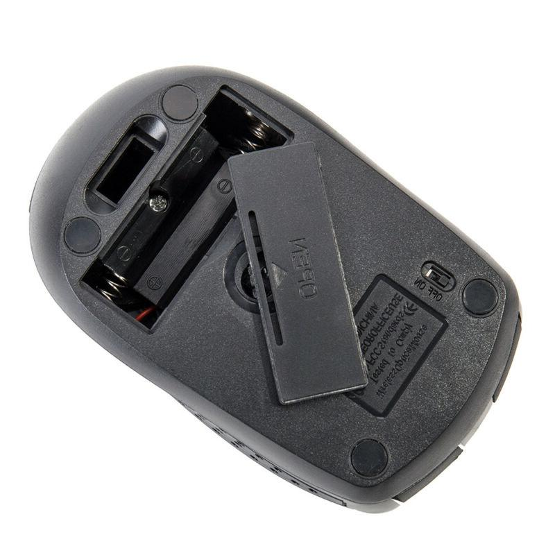 2.4GHz Wireless Optical Mouse Mice For PC