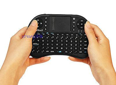 2.4G Mini Keyboard Touchpad Mouse TV IPTV PS3
