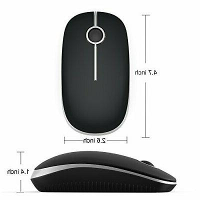 Jelly 2.4G Slim Wireless Mouse with Receiver