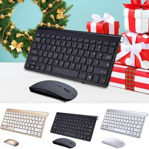 2 4g waterproof wireless keyboard mouse w