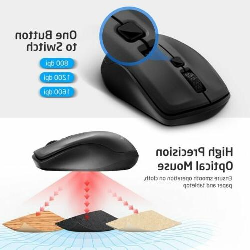 VicTsing 2.4G Wireless Mice 1600 Business