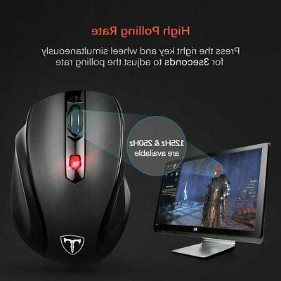 2.4GHz Optical & Receiver Gaming & Mice 2019
