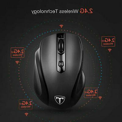 2.4GHz 2400 DPI Optical Mouse USB Receiver & Mice 2019