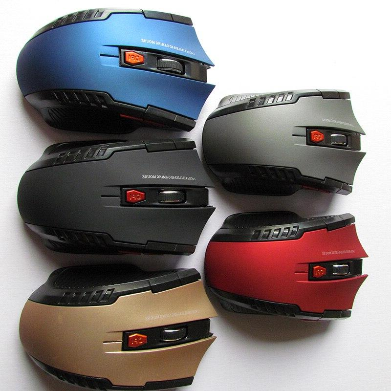 2.4GHz Optical Gamer Game <font><b>Mice</b></font> with USB Mause for PC <font><b>Gaming</b></font> Laptops