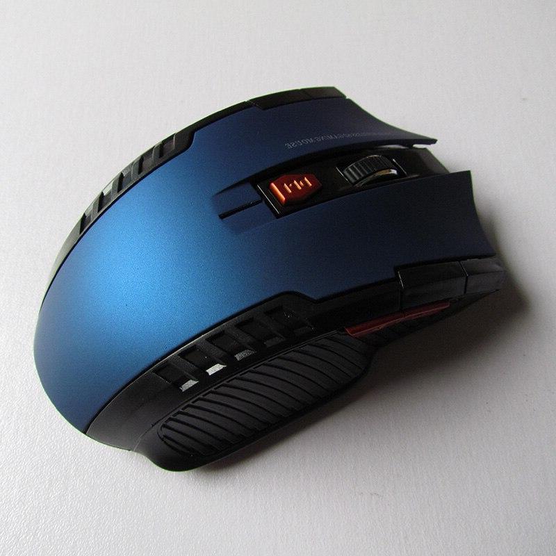 2.4GHz <font><b>Wireless</b></font> Gamer New <font><b>Wireless</b></font> <font><b>Mice</b></font> with USB Receiver Mause Laptops
