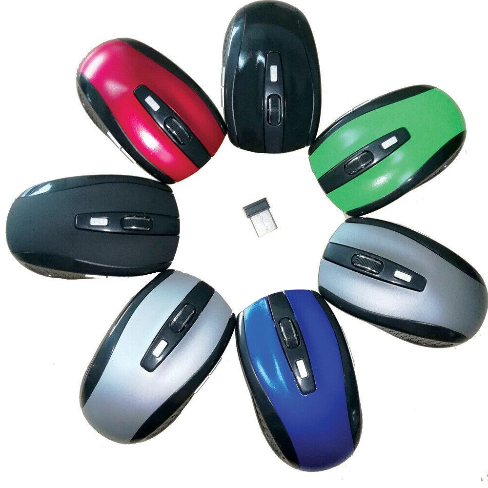 2.4GHz Quality Wireless Optical Mouse/Mice 2.0 Receiver Laptop