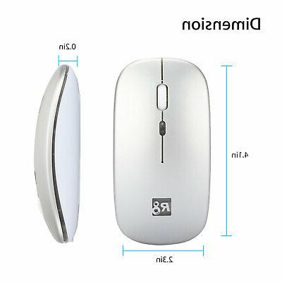 2.4GHz Wireless Mouse Mice Cordless Macbook Laptop