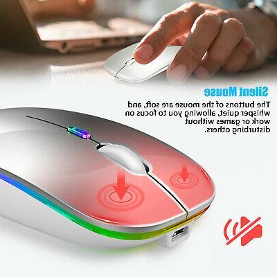 2.4GHz Mice Rechargeable Macbook Pro Laptop