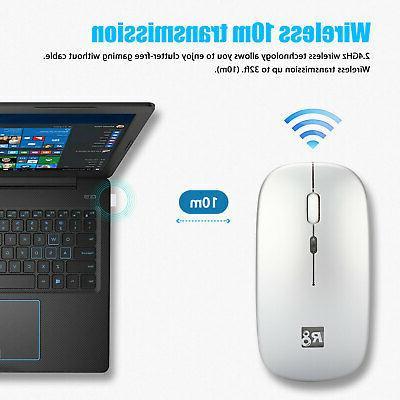 2.4GHz Mouse Mice Cordless Macbook Pro Laptop