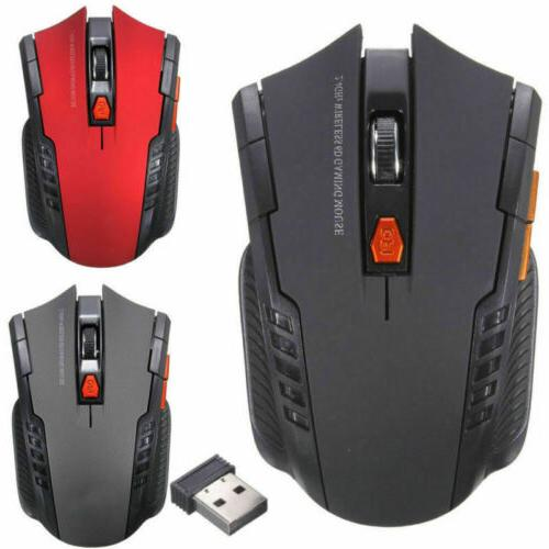 2.4GHz Mouse Mice Scroll For PC + USB