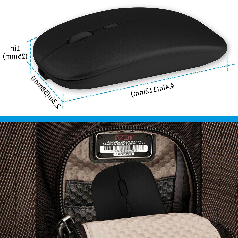 2.4GHz Wireless Rechargeable Laptop Macbook