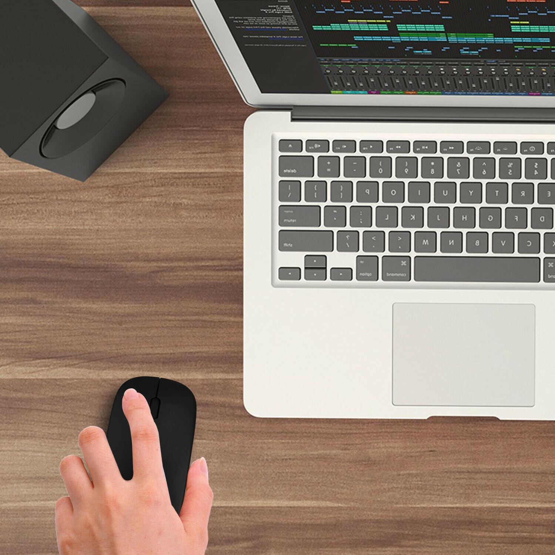 2.4GHz Mouse Rechargeable Mini Laptop Macbook