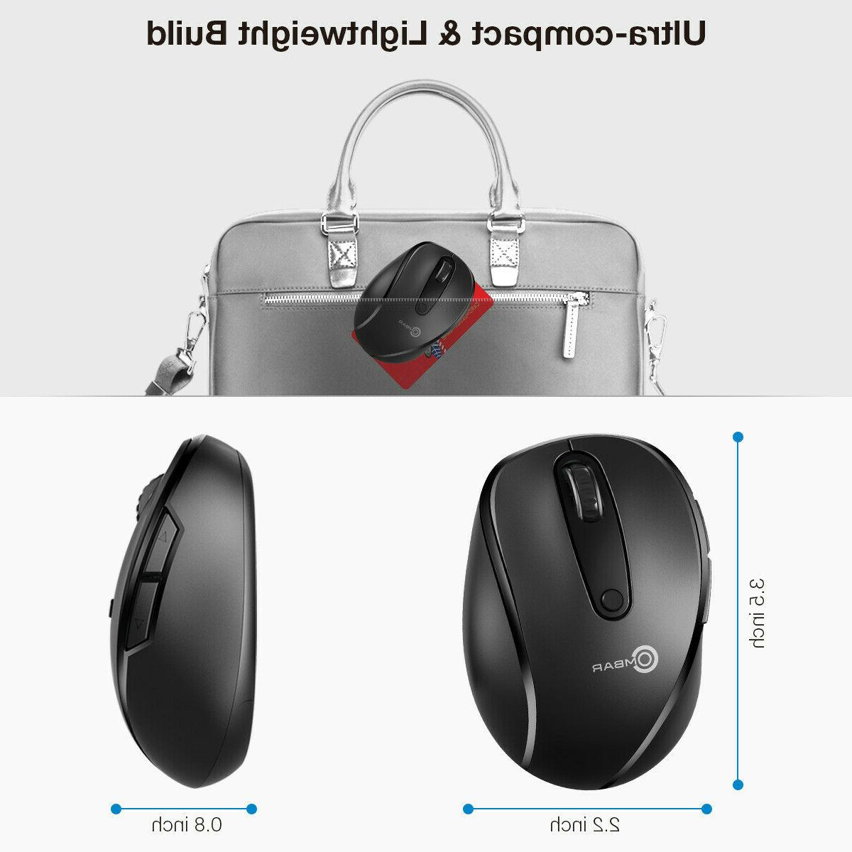 2.4GHZ 6 Wireless Mice for PC OS