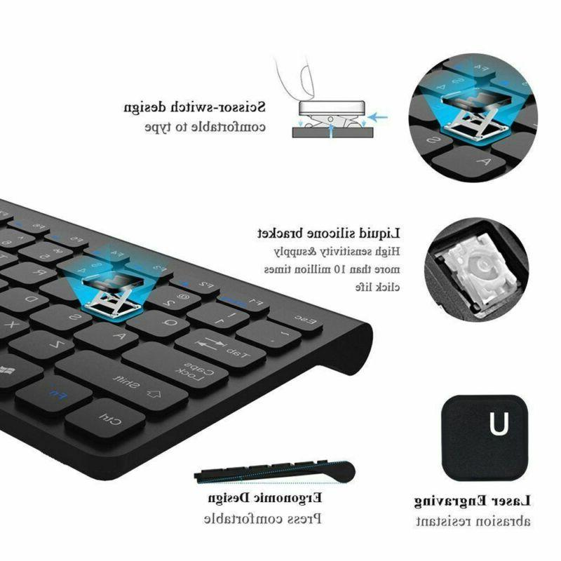 2.4GHz Wireless Mouse Combo ultra-thin Set