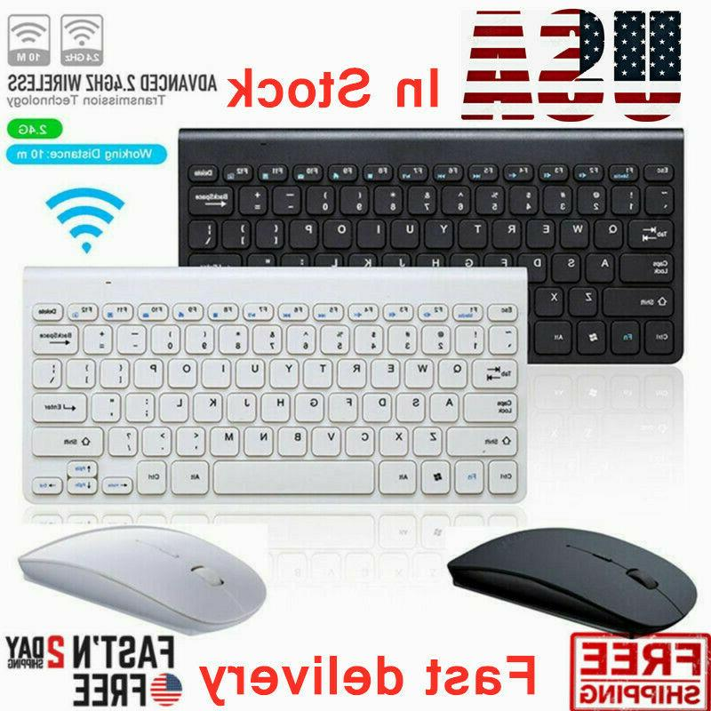 2 4ghz usb wireless keyboard mouse combo