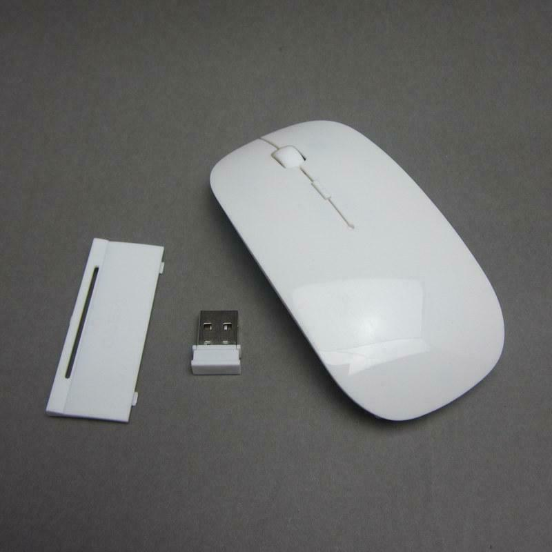 2.4GHz USB Mouse Mac Macbook Pro Air PC White